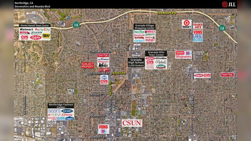 Reseda Shopping Center: Northridge - Retail - Lease