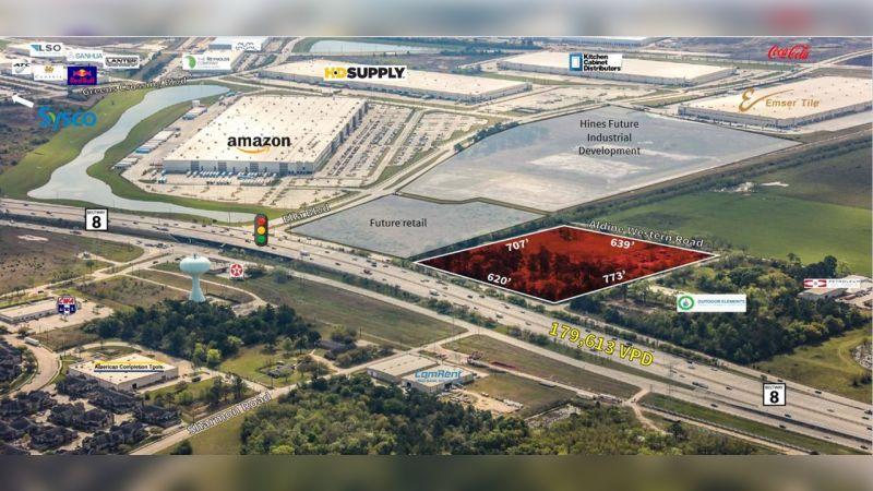 N Sam Houston Parkway and Sharmon Road - Land - Sale