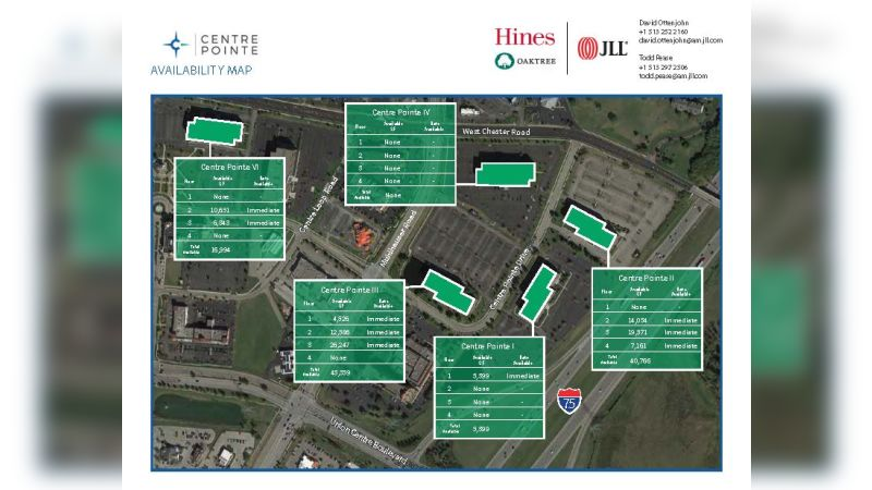 Centre Pointe I - Office - Lease