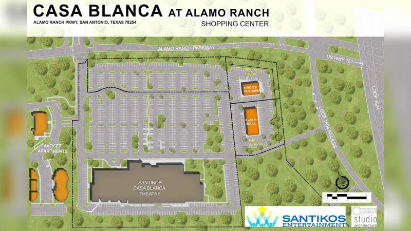 Casa Blanca Alamo Ranch - Retail - Sale