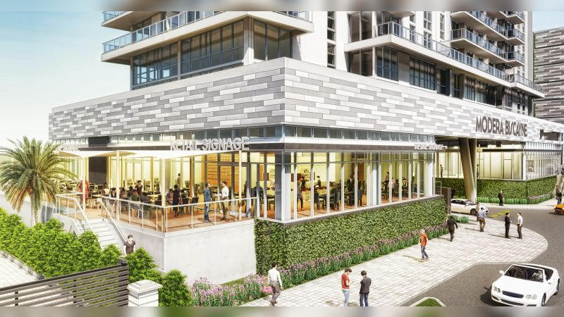 Modera Biscayne Bay - Retail - Lease
