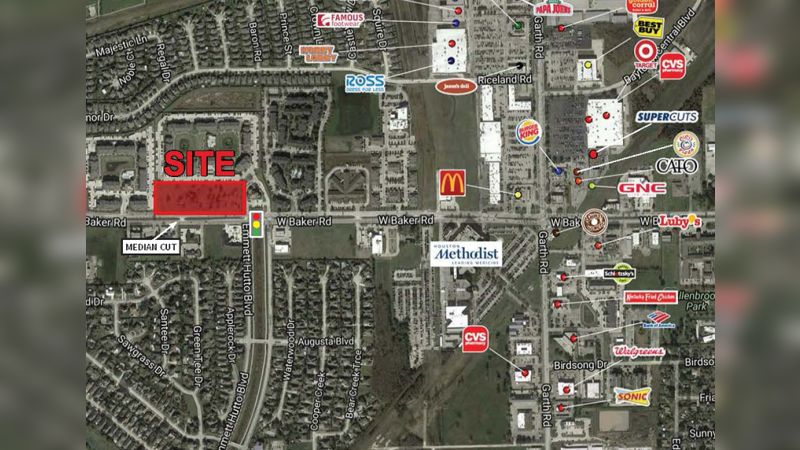 NWC W Baker Rd & Emmet Hutto Blvd - Land - Sale