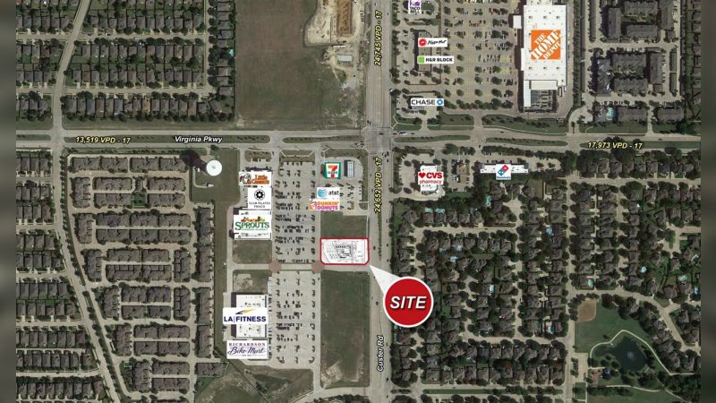 SWC Custer Rd & Virginia Pkwy - Retail - Sale