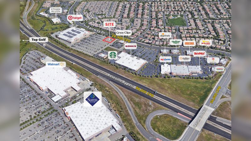 ±  5,000 SF Outparcel - Retail - Sale