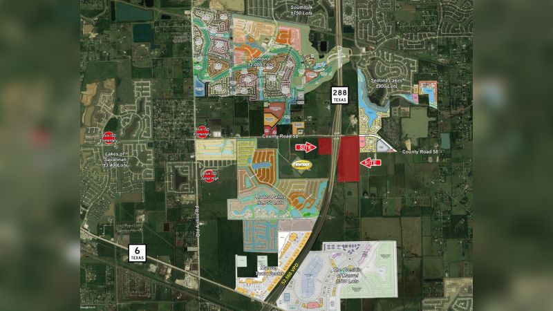 SH 288 and Croix Road - Land - Sale