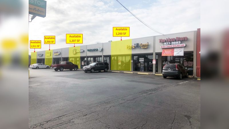 1310 – 1328 SW Military Drive Shopping Center - Retail - Lease