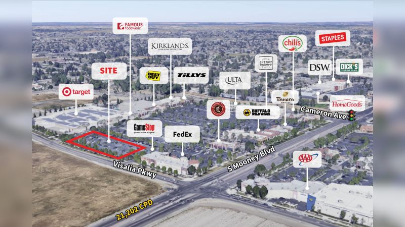 ±  7,500 SF Outparcel - Retail - Sale