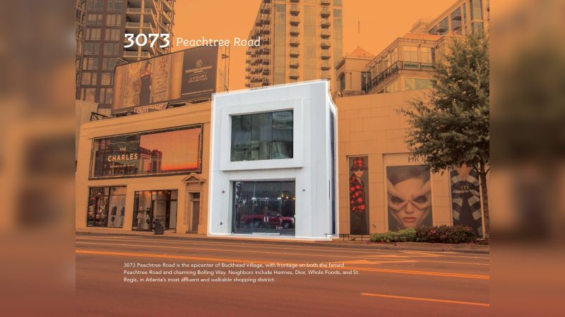 3073 Peachtree Road - Retail - Sale