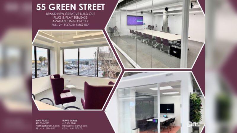 55 Green Street - Office - Sublease