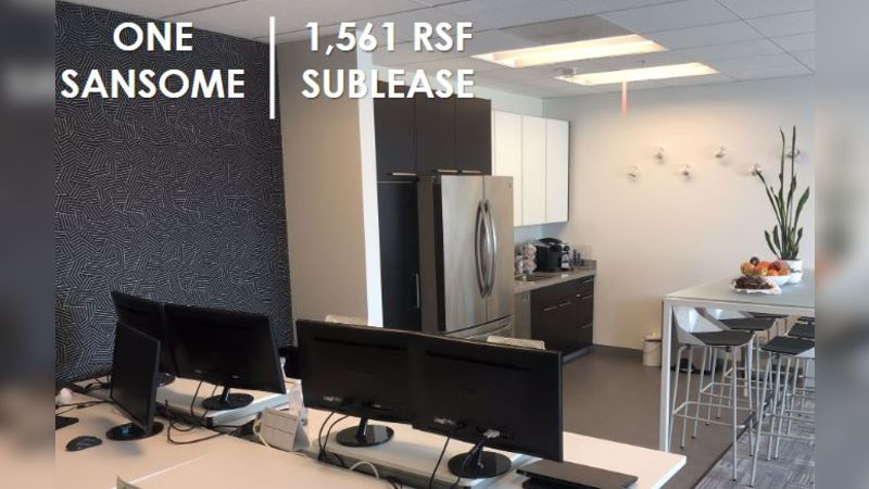 ONE SANSOME - Office - Sublease