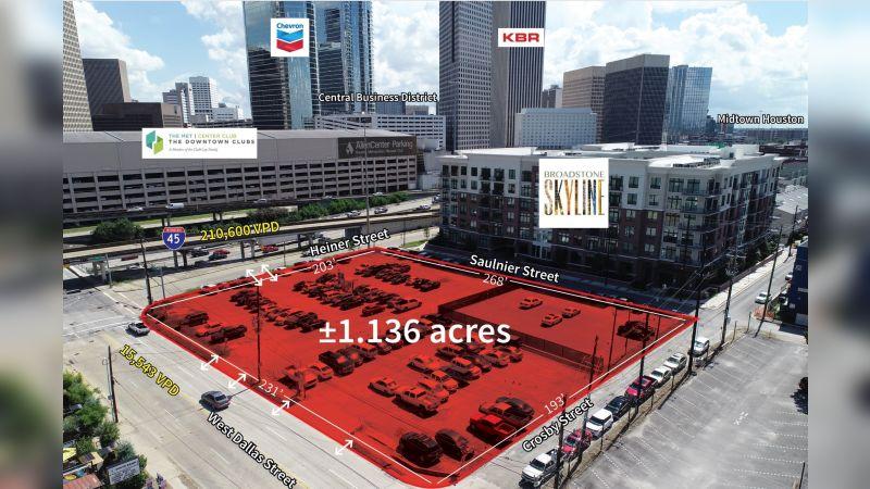 W Dallas Street and Crosby Street - Land - Sale