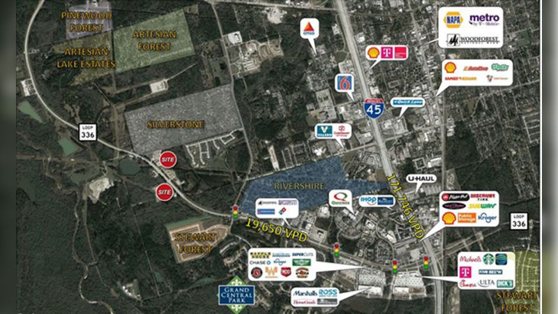 South Loop 336 W (south side) - Retail - Sale