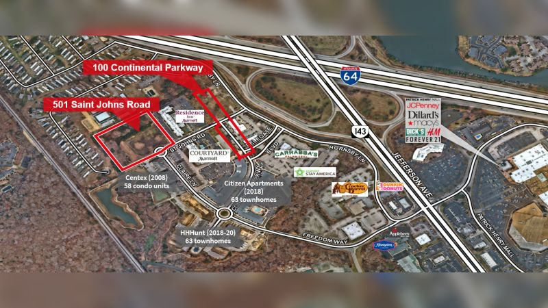 501 St. Johns Rd & 100 Continental Pkwy - Retail - Sale