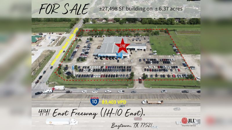 4141 East Freeway - Retail - Sale