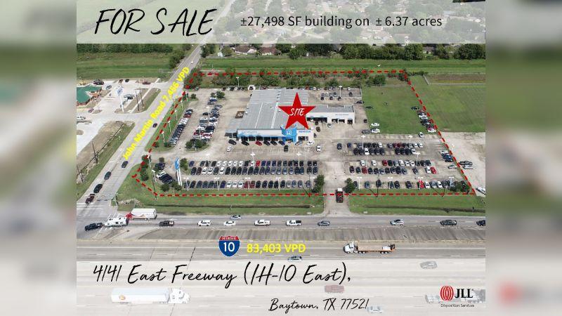 4141 East Freeway - Retail - Sale