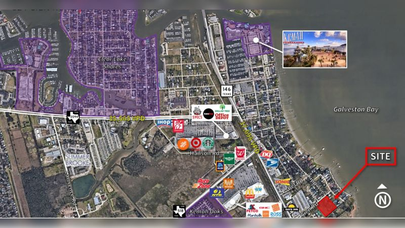Cien Street and Kipp Avenue - Retail - Sale