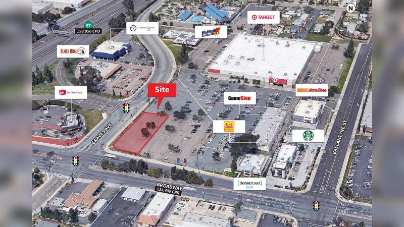 Target El Cajon Outparcel - Retail - Sale