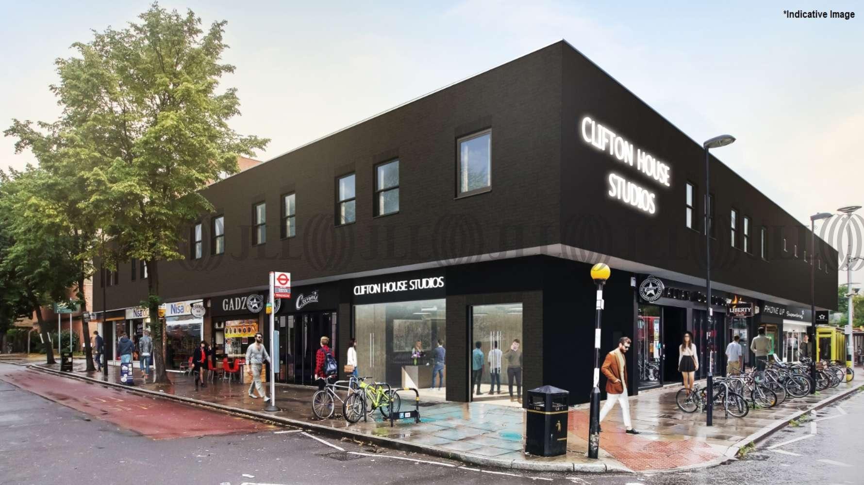 Office London, N4 3JP - Clifton House - 1