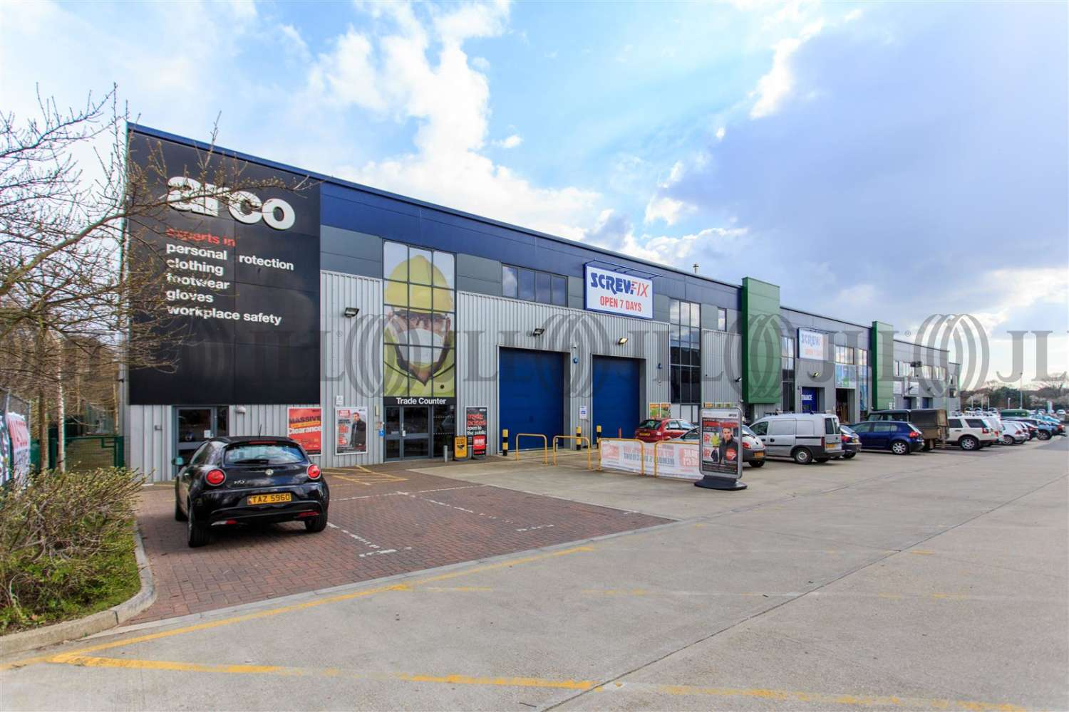 Industrial Poole, BH17 7AE - Unit 6, Broadstone Trade Centre