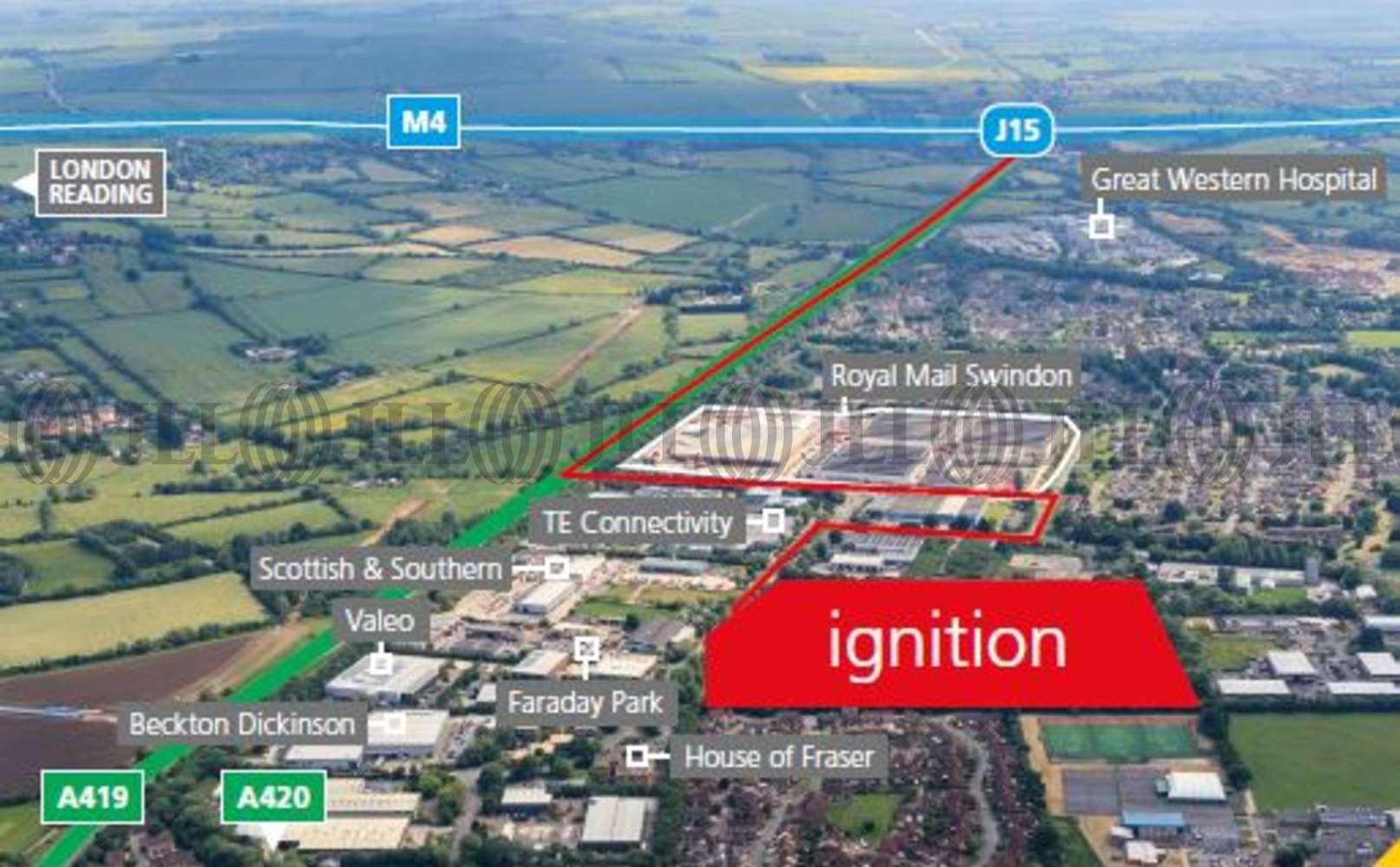 Industrial Swindon, SN3 5HS - Ignition (Phase II - Design & Build Options)