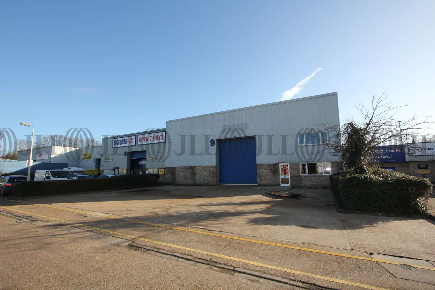 Industrial Eastleigh, SO50 4NT - Unit 9 Goodwood Road - 3177