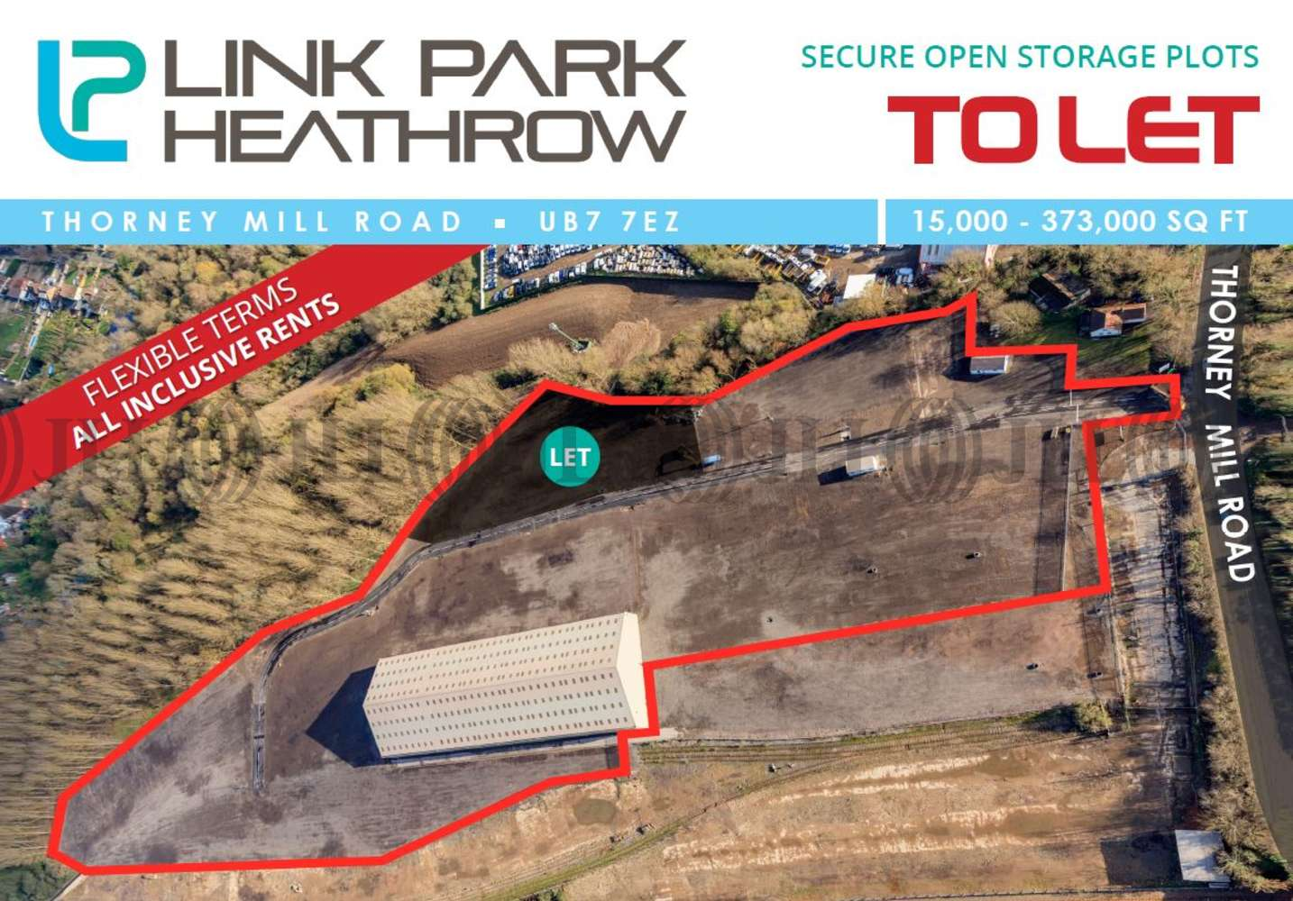 Land Heathrow, UB7 7EZ - Plot 6 Link Park - 64470
