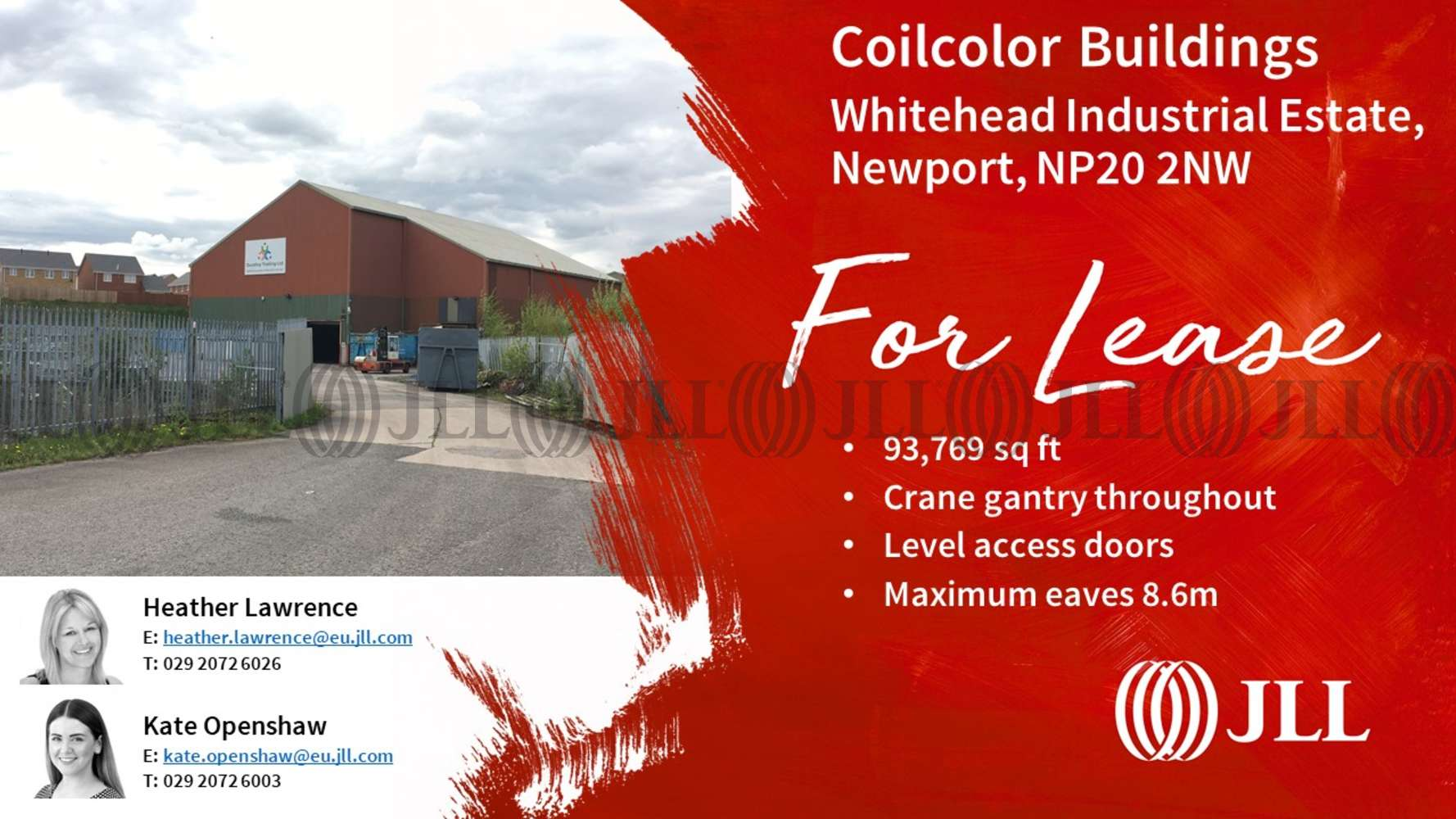 Industrial Newport, NP20 2NW - Coilcolor Buildings