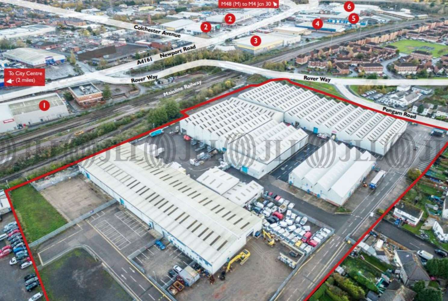 Industrial Cardiff, CF24 2RZ - St Catherine's Park - 73762