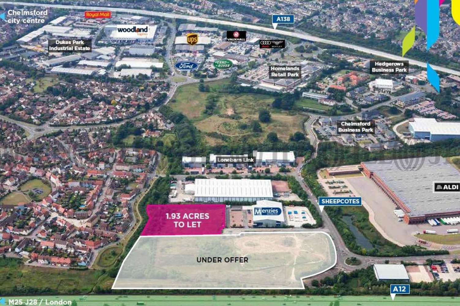 Industrial Chelmsford, CM2 5BB - Phase II, Springfield Business Park