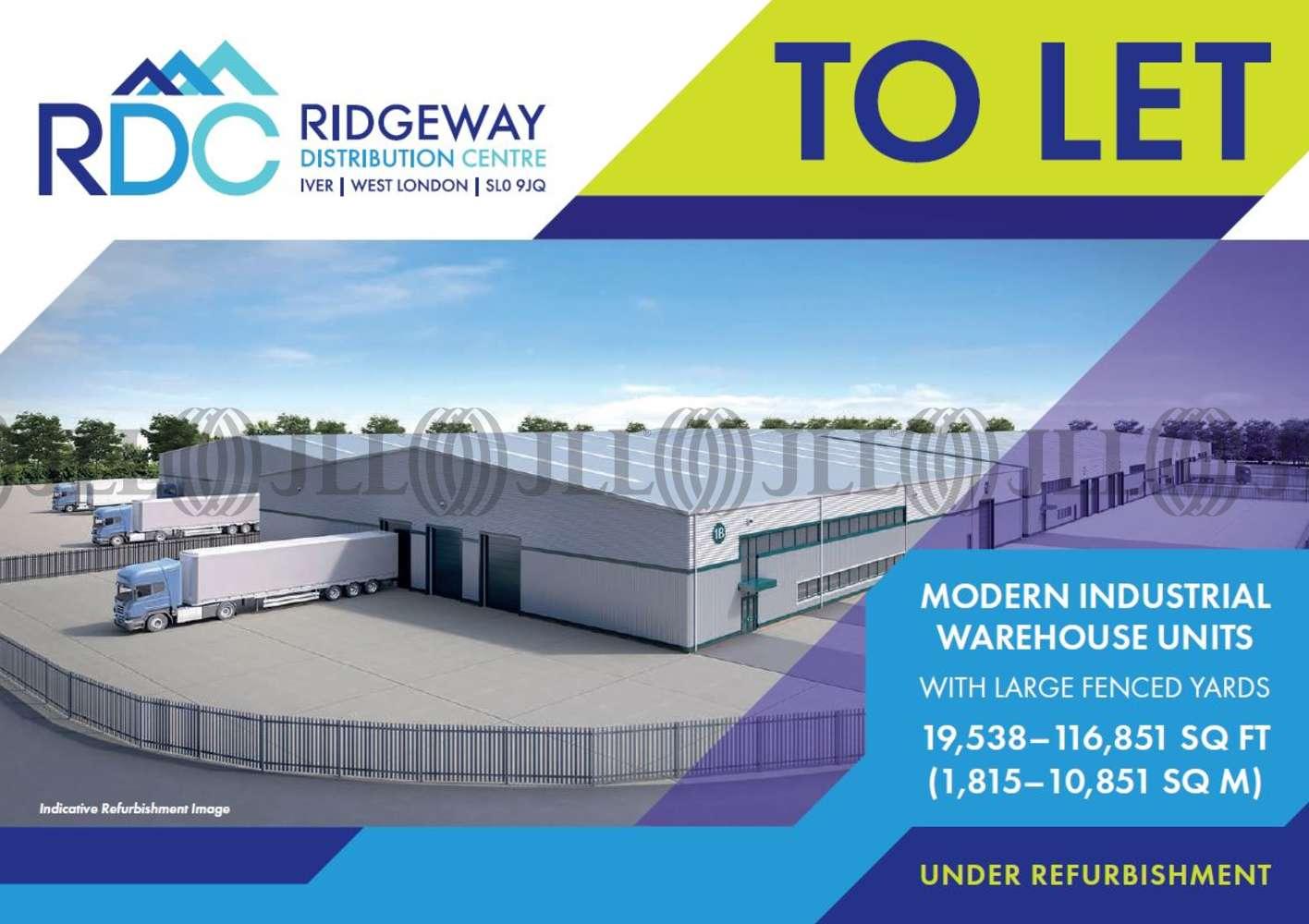 Industrial Iver, SL0 9JQ - Unit 1B Ridgeway Distribution Centre - 91992