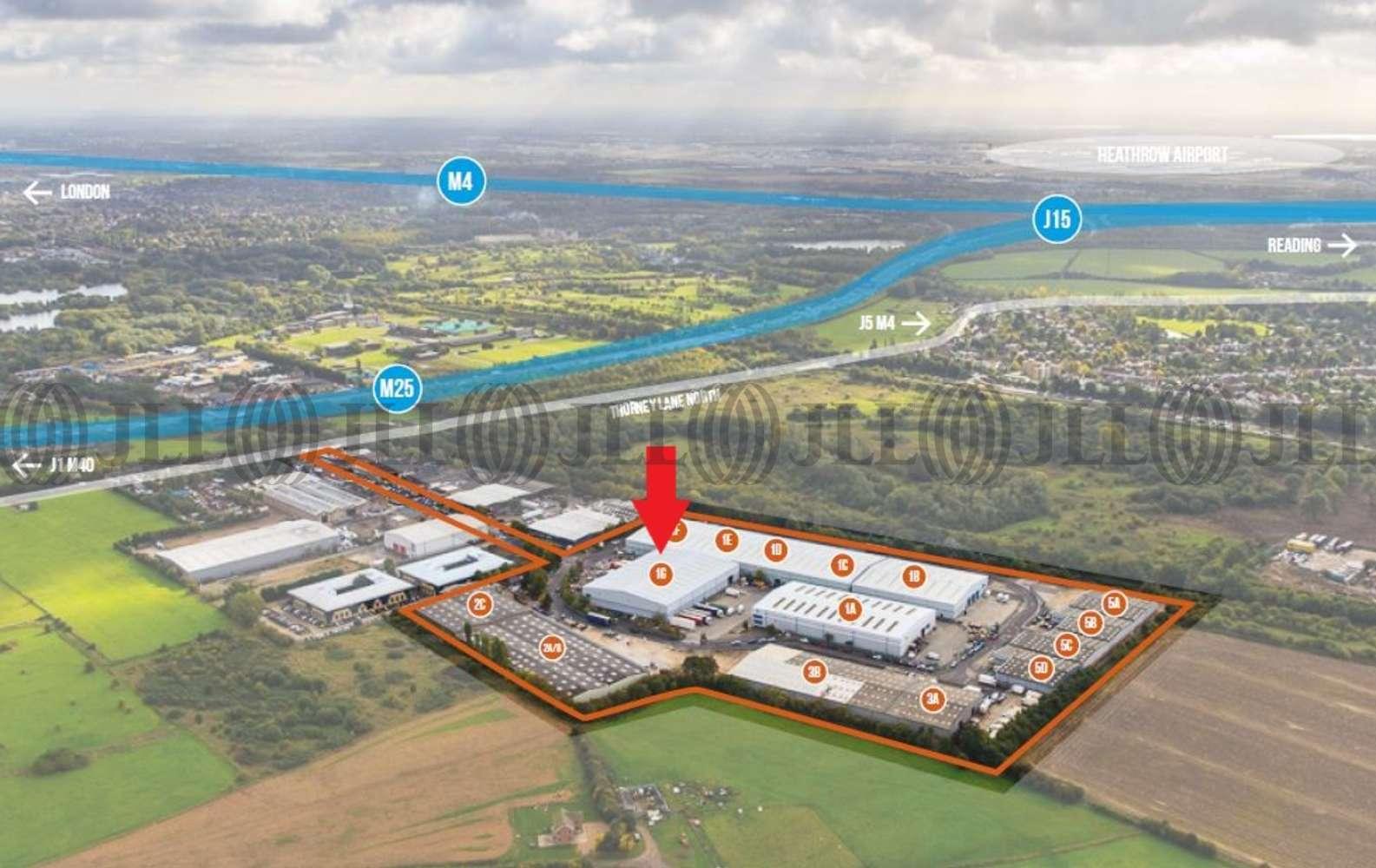 Industrial Iver, SL0 9JQ - Unit 1G Ridgeway Distribution Centre - 1