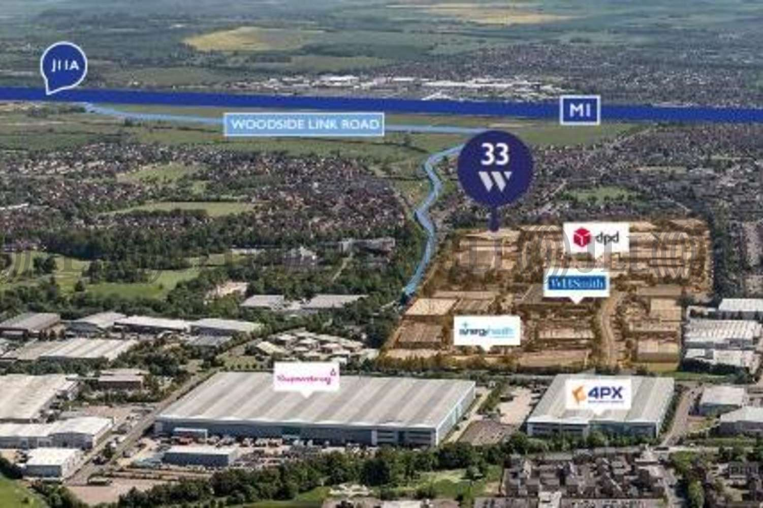 Industrial Dunstable, LU5 4TP - Unit 33 Woodside Industrial Estate - 2