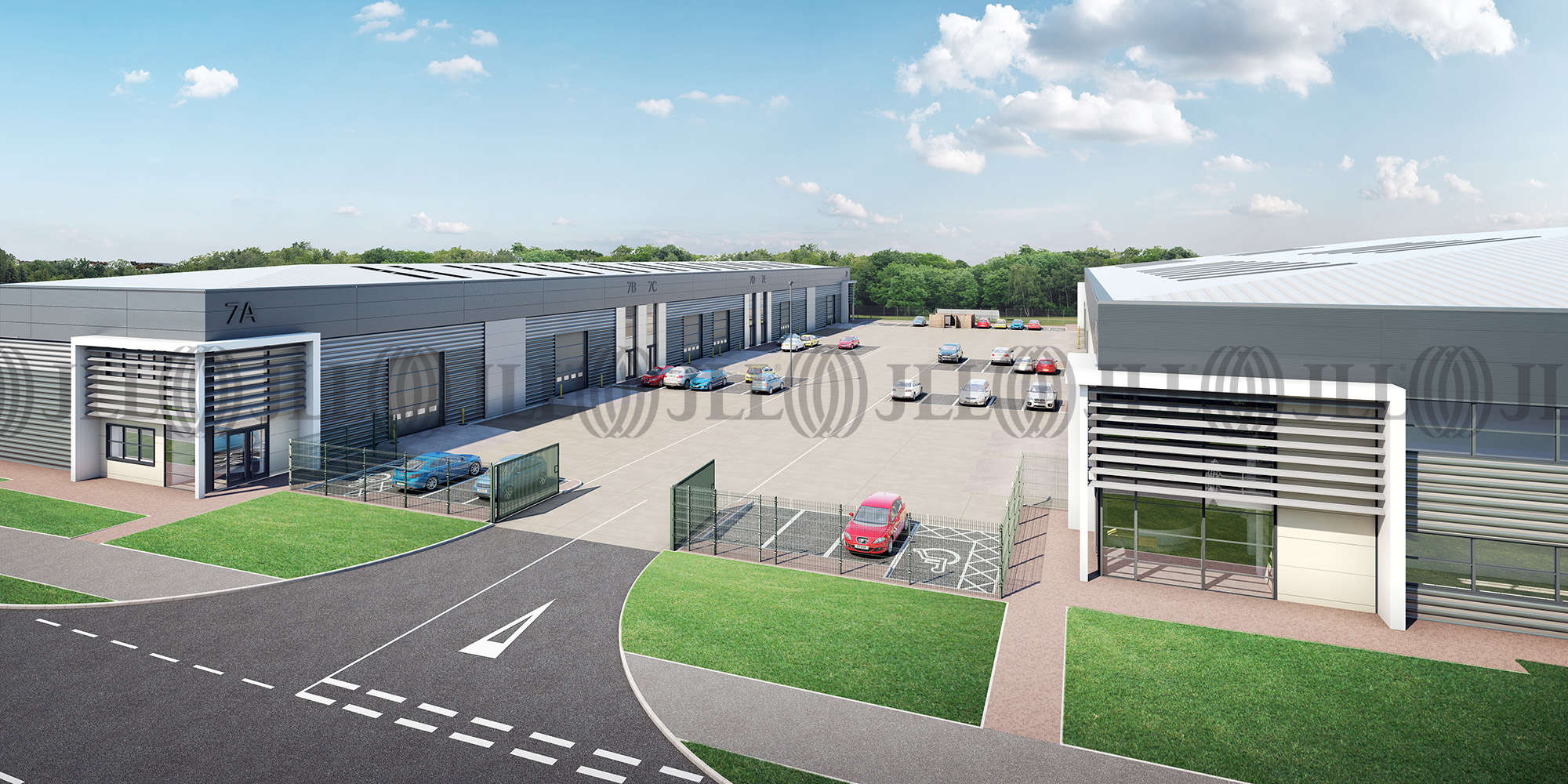 Industrial Waterlooville, PO7 3AP - Phase 1 Proxima Park - 2
