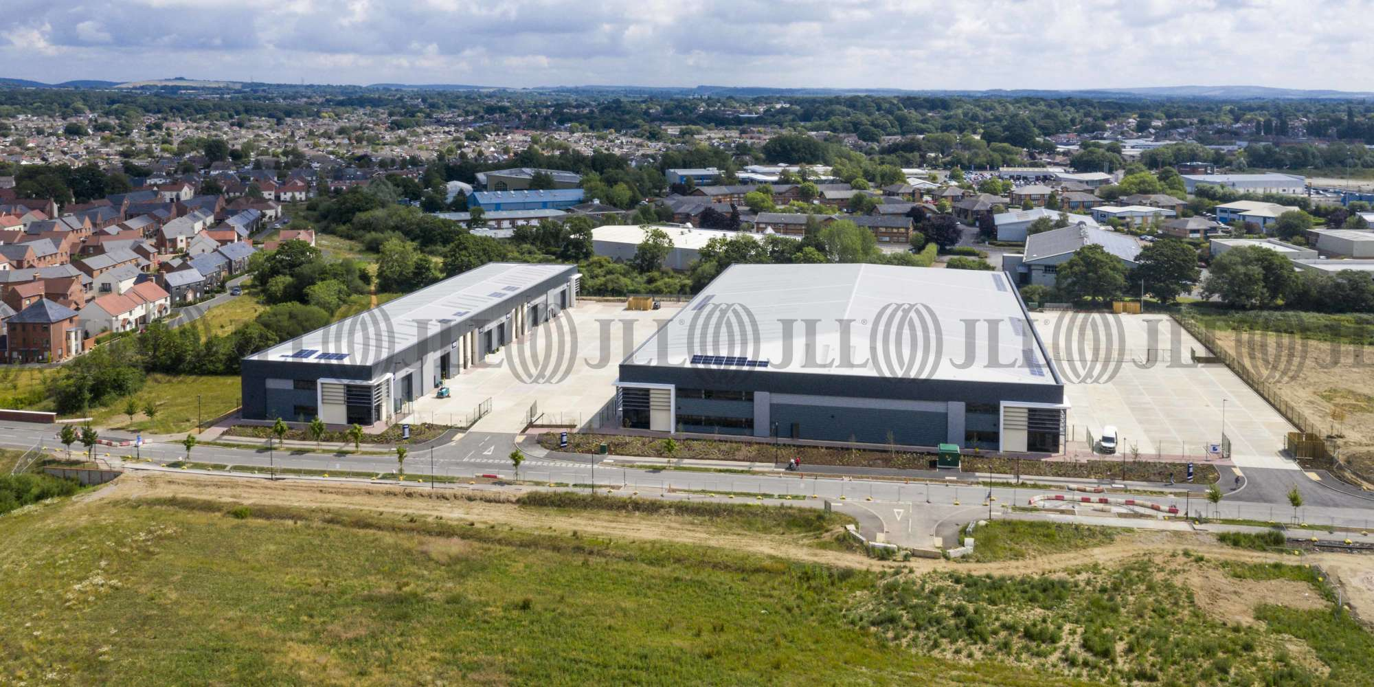 Industrial Waterlooville, PO7 3AP - Proxima Park, Design & Build Phase