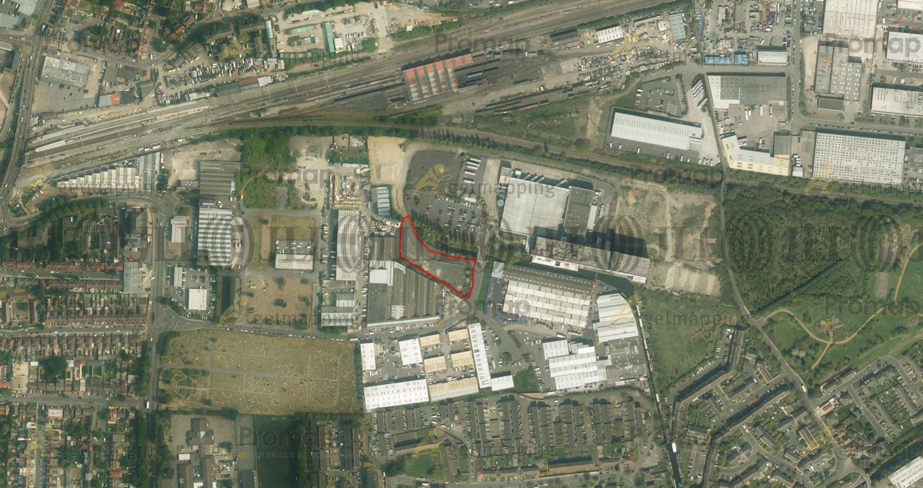 Industrial Southall, UB2 4AB - Secure Open Storage Facility at Bridge Road - 2