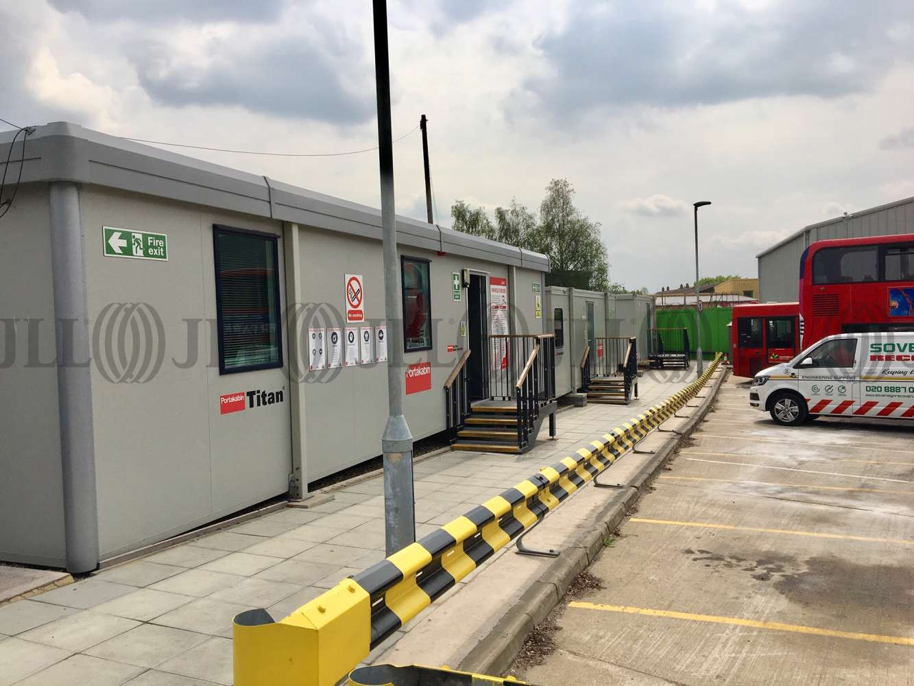 Industrial Southall, UB2 4AB - Secure Open Storage Facility at Bridge Road - 87568
