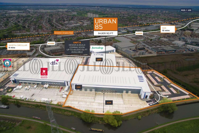 Industrial Enfield, EN3 7SR - URBAN 85, Enfield Distribution Park