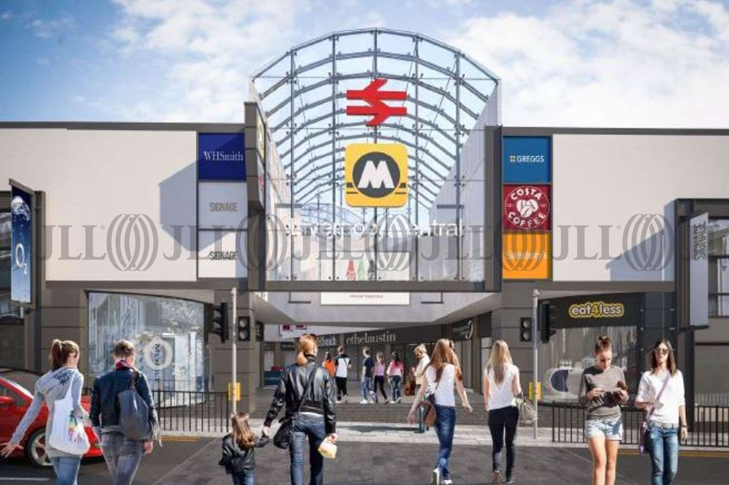 Retail shopping centre Liverpool, L1 1JT - Liverpool Central Station - Units 5 & 6