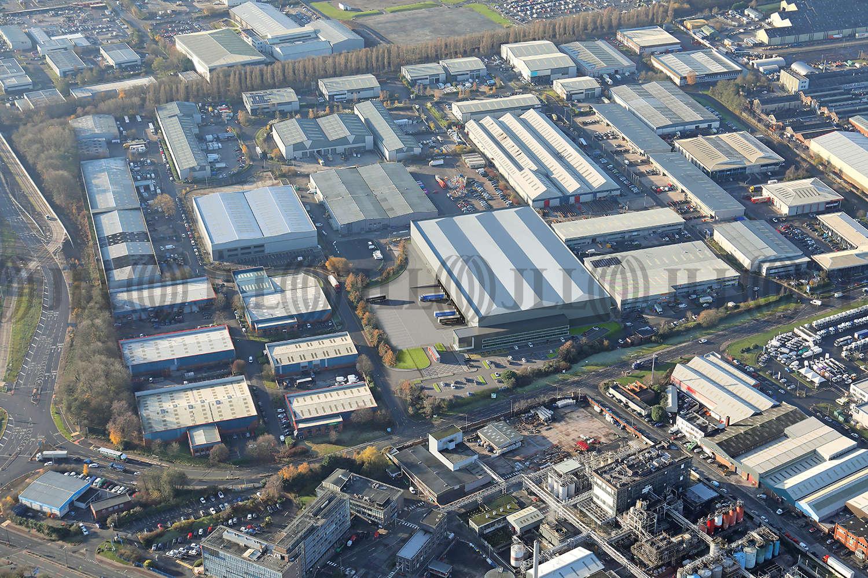 Industrial Manchester, M17 1SN - Trafford 150