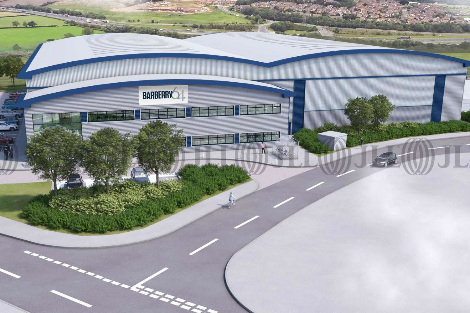 Industrial Cannock, WS11 8LD - Barberry 64 - 0001