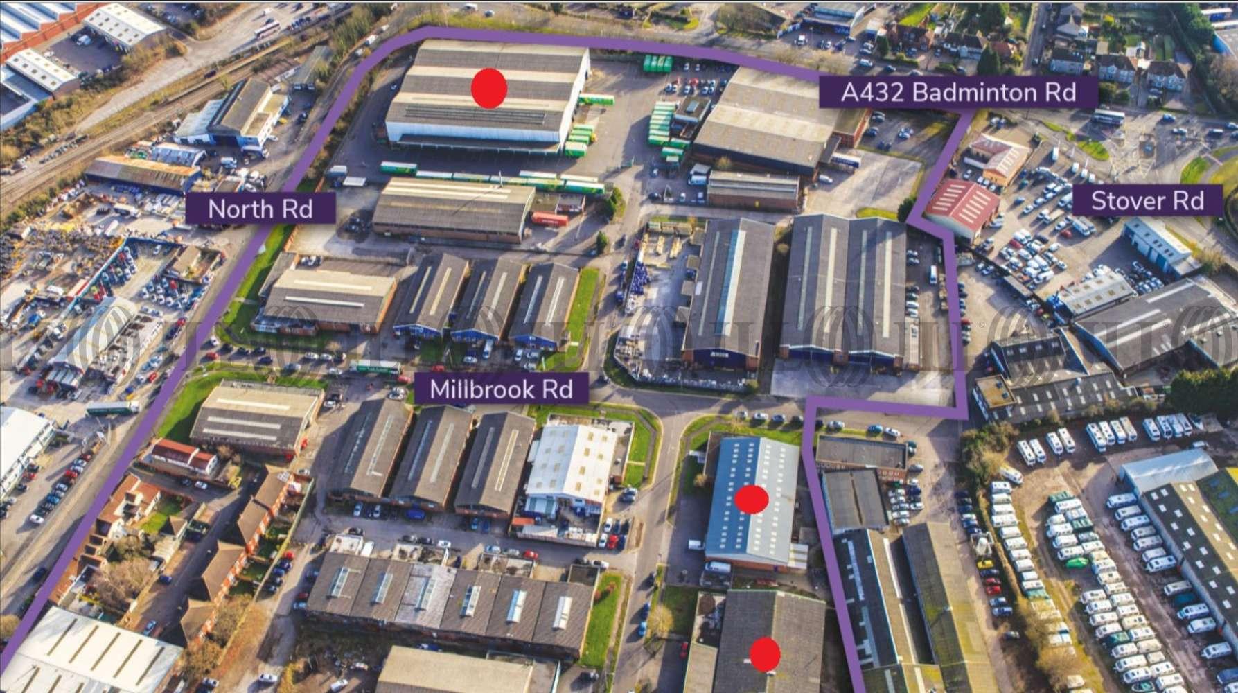 Industrial Bristol, BS37 5PB - Unit M2 Stover Trading Estate - 1
