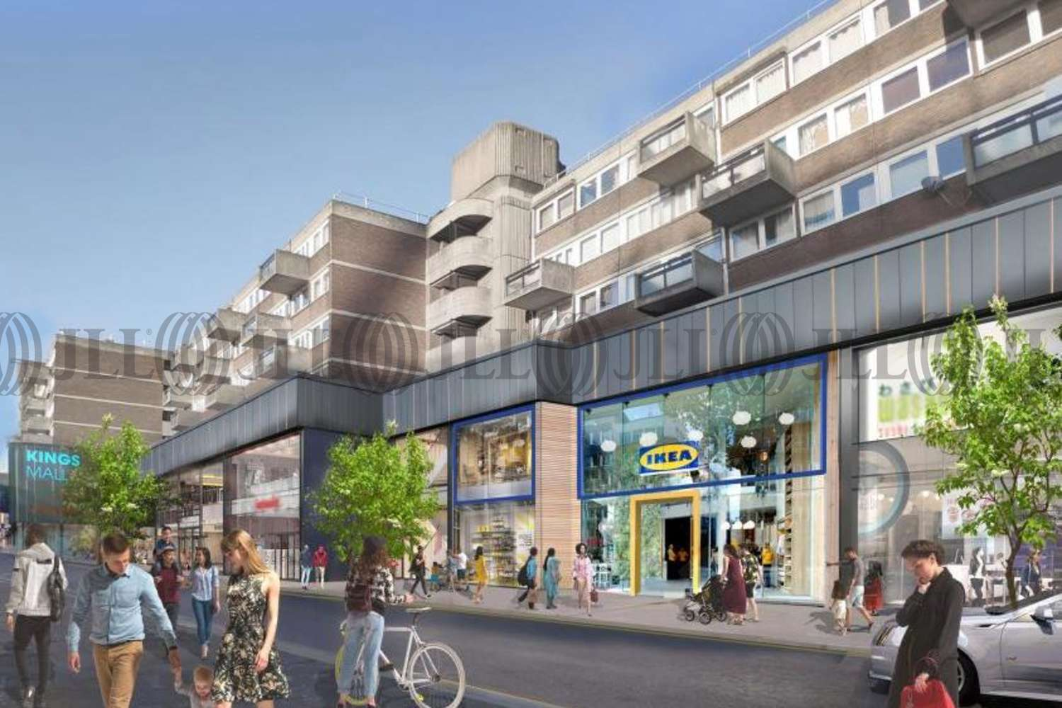 Retail shopping centre London, W6 9HW - Kings Mall Hammersmith
