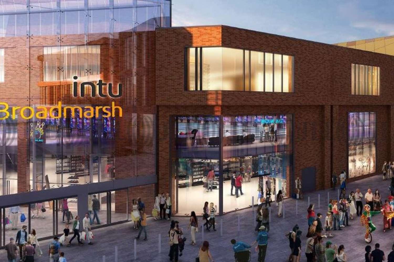 Retail shopping centre Nottingham, NG1 7LB - Intu Broadmarsh