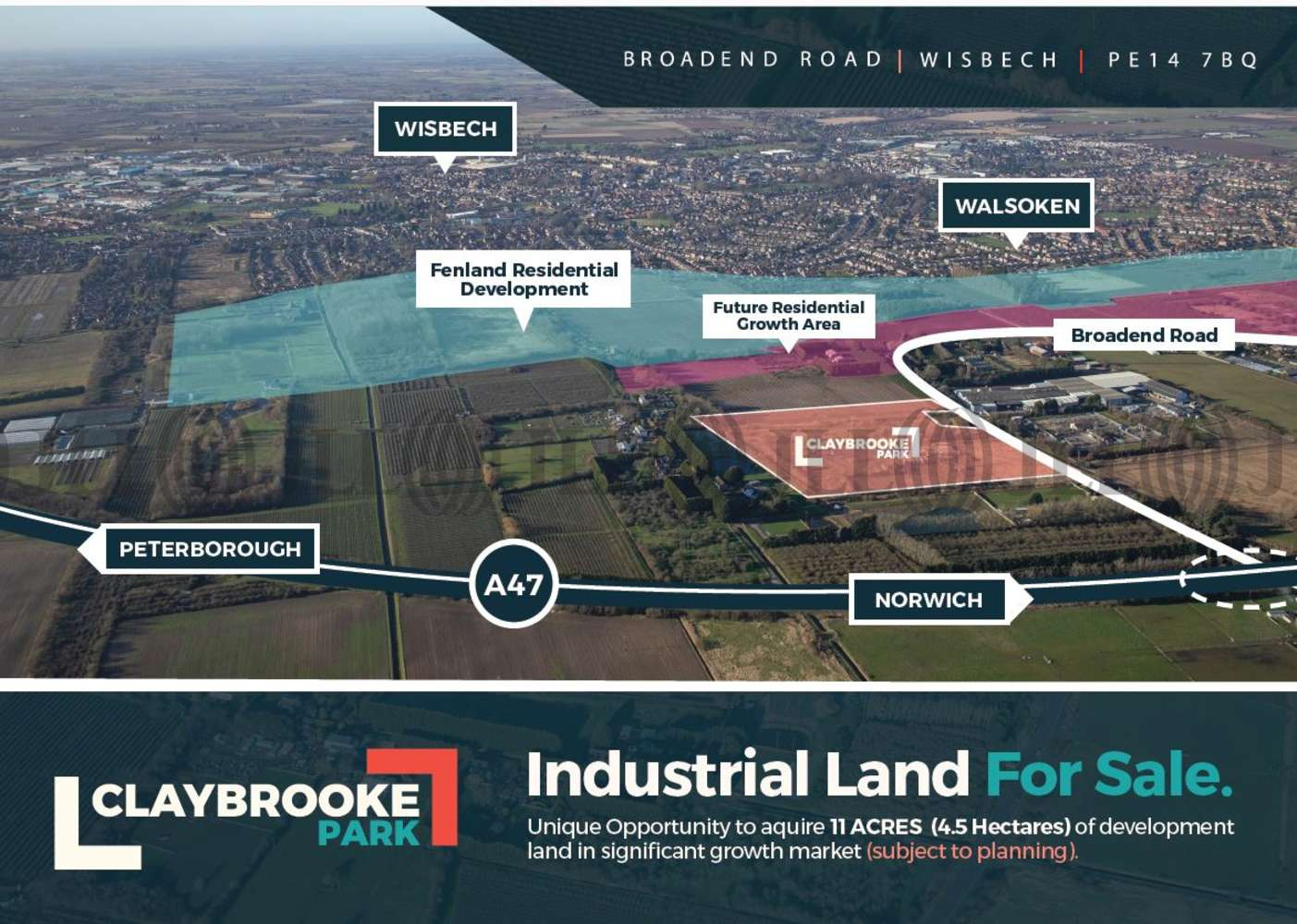 Industrial Wisbech, PE14 7BQ - Claybrooke Park - 97370