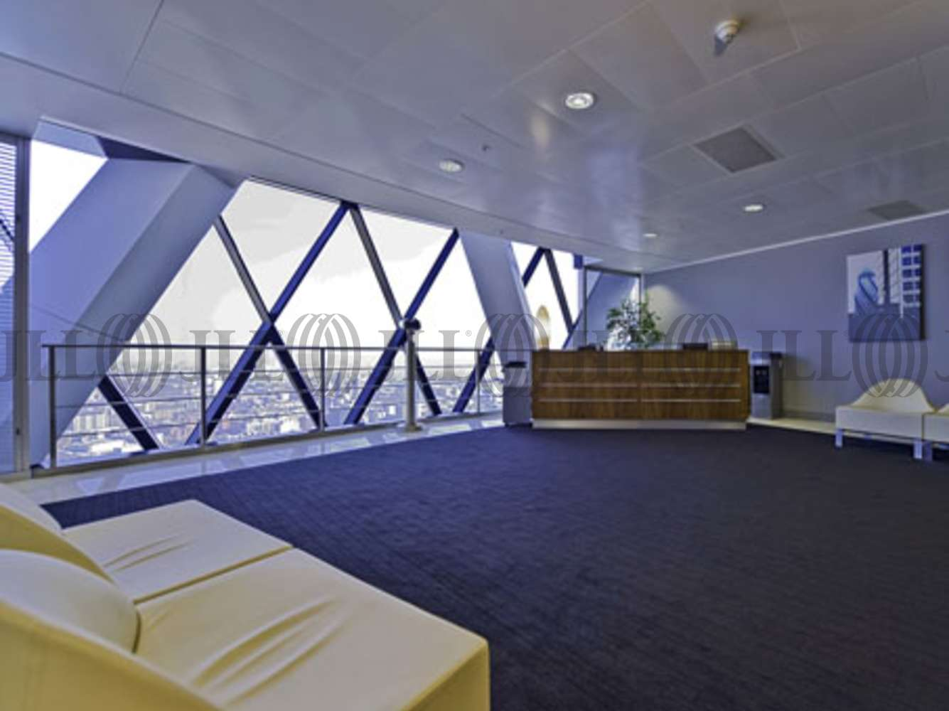 Serviced office London, EC3A 8BF - 30 St Marys Axe  - 1