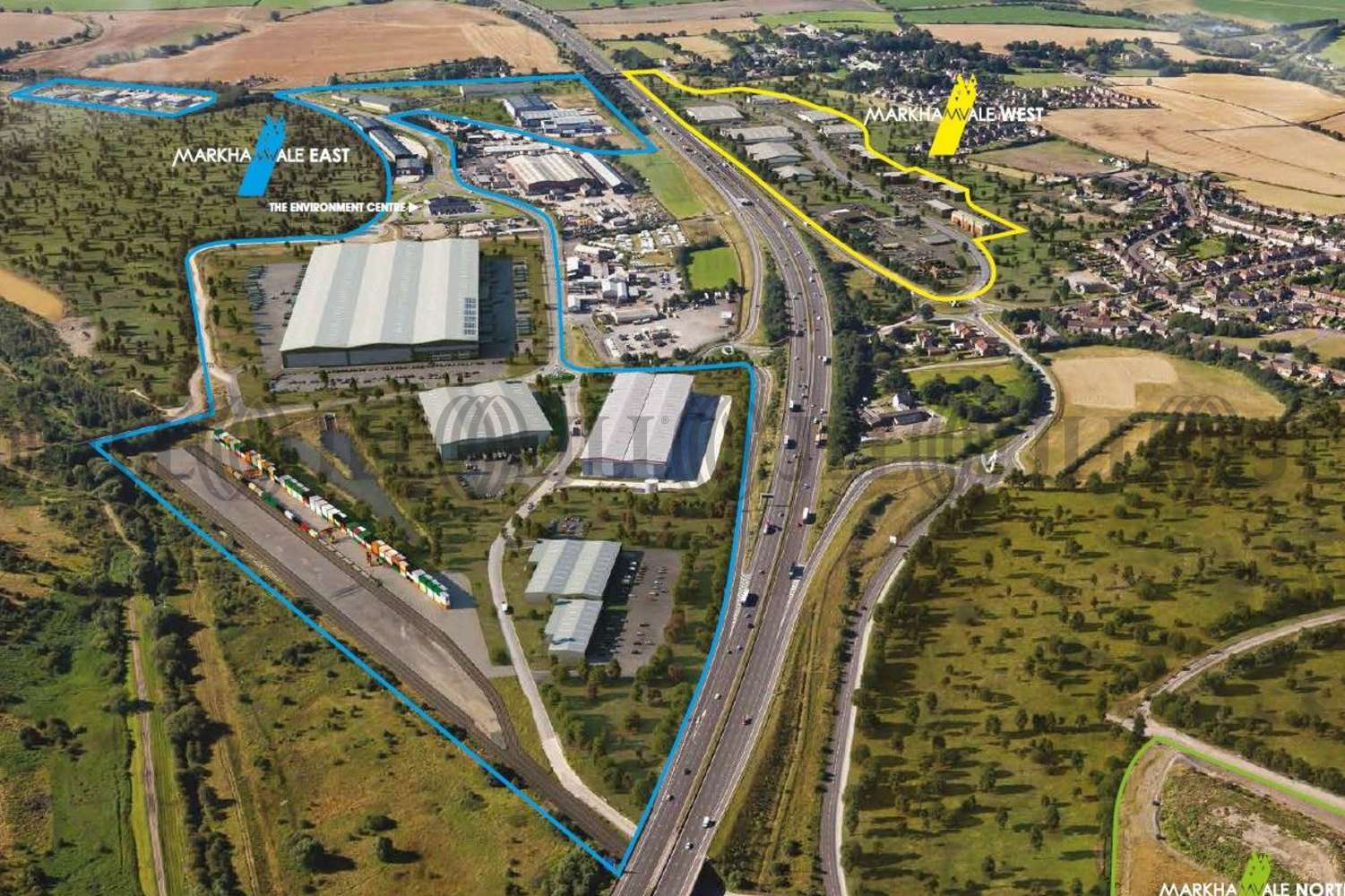 Office Chesterfield, S44 5HY - Markham Vale West