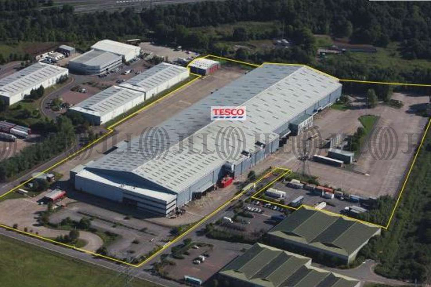 Industrial Chepstow, NP16 6UP - Former Tesco Distribution Centre, Newhouse Farm Industrial Estate - 7273