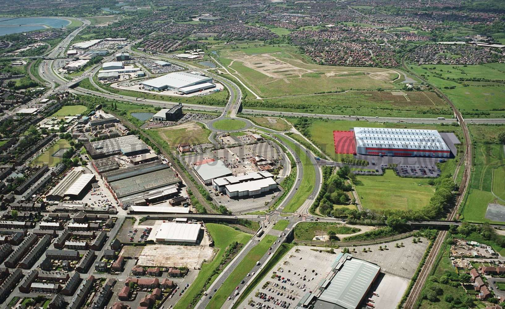 Industrial Ashton-under-lyne, OL7 0DP - Plot 3000 Ashton Moss