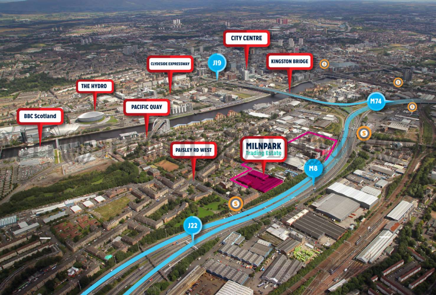 Industrial Glasgow, G41 1SB - Milnpark Trading Estate - 76981