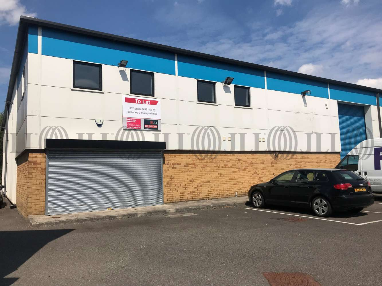Industrial Cardiff, CF3 2PX - Unit M1, The Levels Business Park - 2